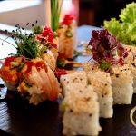 Auch der Weihnachtsmann liebt Sushi